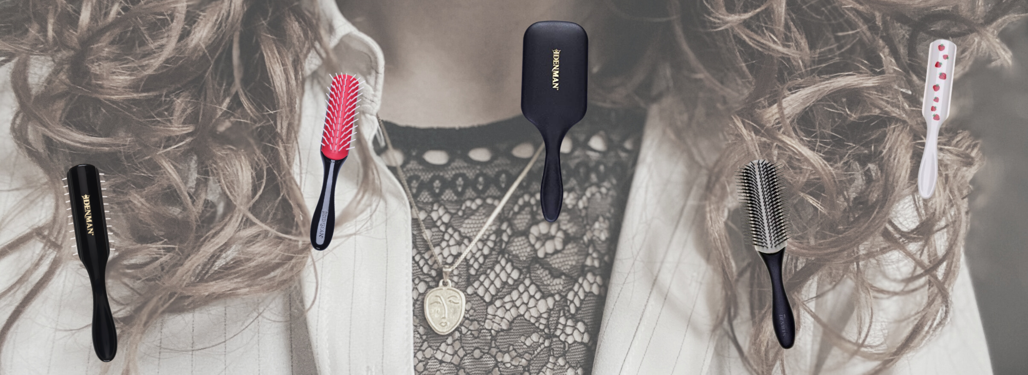 DENMAN plaukų šepečiai – kam jie skirti ir kokį pasirinkti?